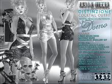 "DEMO - Bella Moda: ""Distinzione"" Cocktail Outfits: Maitreya/Classic/Physique/Hourglass/Isis/Venus/Freya+Std"