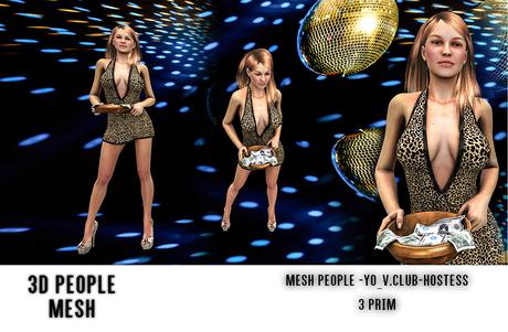 MESH PEOPLE - YO_V.Club-Hostess