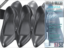 DEMO - Bella Moda Fat Pack: Femmina Mid-Feet Shoes - Fitted for Slink + Resize for Maitreya & other Mesh Feet