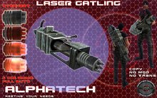 AlphaTech Laser Gatling + CCS Enhanced