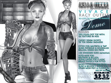 DEMO - Bella Moda: Vivace Racy Outfits - Fitted Mesh for Maitreya/TMP/Physique/Hourglass/Isis/Venus/Freya+Std Sizes