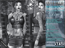 DEMO - Bella Moda: Mezzanotte Midnight Outfits - Fitted for Maitreya/Physique/Classic + 5x Std Sizes