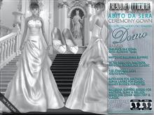 DEMO - Bella Moda: Abito da Sera Ceremony Gowns & Slippers - Fitted: Maitreya/Physique/Hourglass/Classic+Std Sizes