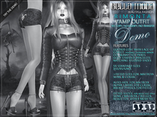 DEMO - Bella Moda: Rimonta Vamp Outfits & Shoes - Fitted Mesh for Maitreya/Slink/Classic+Std Sizes