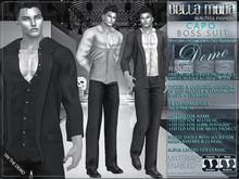 DEMO - Bella Moda: Capo Pinstripe & Tweed Boss Suits/6 Shirts HUD/Trousers/Shoes/Classic+Fitted Mesh
