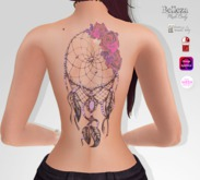 TSB ::: Tattoo capture dreams and rose petals