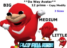 **Da Way Avatar 3sizes**PlayFullMesh