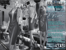 DEMO - Bella Moda: Poco Vestito Little Dress Outfits / Dress/Jacket/Shoes - Fitted Mesh for Maitreya/Slink/Classic