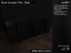 /studioDire/ Store Counter One - Dark