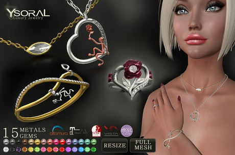 ~~ Ysoral ~~  .:Luxe Fatpack Jewelry Romance:.