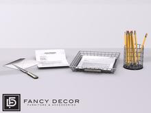Fancy Decor: Desk Accessories