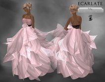 Ecarlate - Pink Dress Gown Wedding / Robe Rose - Frity