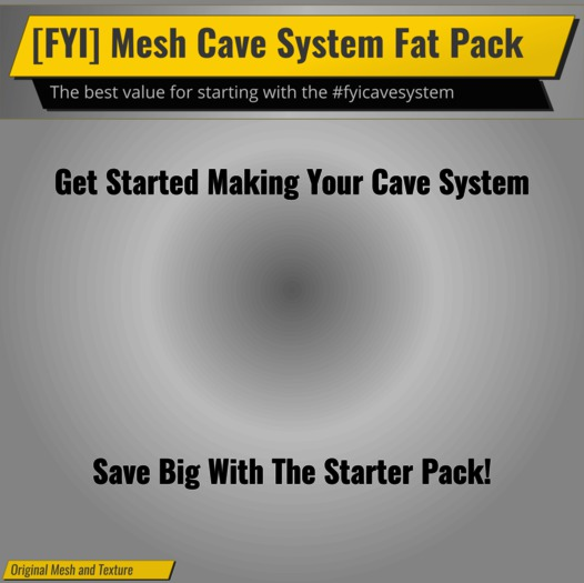 [FYI] Mesh #fyicavesystem Deluxe Fat Pack Kit