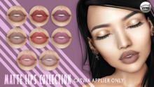 iS Matte Lips Collection - CATWA