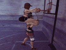 ++ Vetro Poses - Couple playing basketball 03 ++