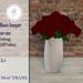 .::Hazeel::. Roses bouquet on vase