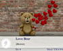 .::Hazeel::. Love bear {Brown}