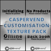 [DDD] CasperVend Status Textures - Offline, Initializing, No Product, and Back Soon Customisation Textures