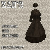Zan's inverness coat and skirt