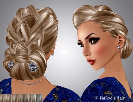 FaiRodis Kate hair light blonde2+3 decoration pack
