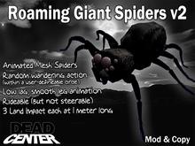 Dead Center: Roaming Giant Spiders v2