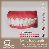 DEMO *6DOO* bento basic teeth