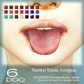 DEMO *6DOO* bento basic tongue