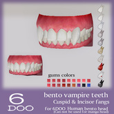*6DOO* bento vampire teeth