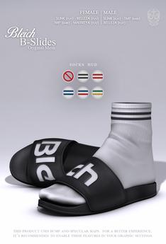 Bleich - Mesh B-Slides - Black