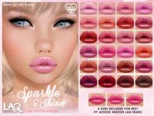 [PF] LAQ LIPSTICK - Sparkle & Shine