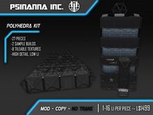 PsiNanna, Inc. Polyhedra Modular Kit