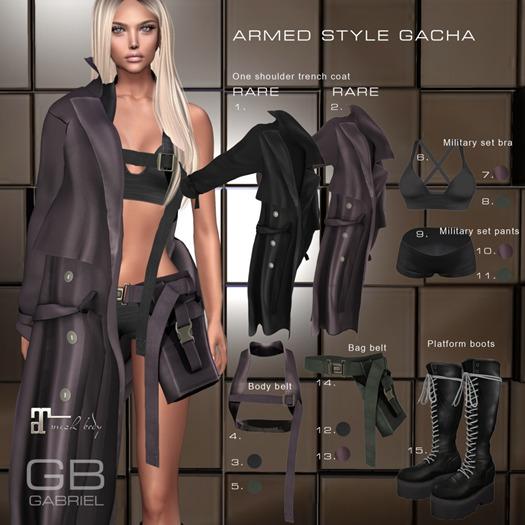 5.::GB:: Body belt (F) (M) Dark olive