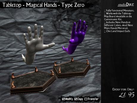/studioDire/ Tabletop - Magical Hands - Type Zero