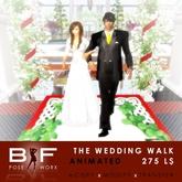 B&F - The Wedding Walk