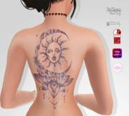 TSB ::: Tattoo the dream catcher with sun 1