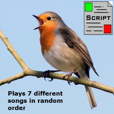 Bird Sounds Script / Singing Birds / Ambient bird sounds V1