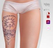 TSB ::: Tattoo Tattoo the dream catcher with sun 2
