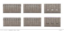 taikou / concrete wall pack