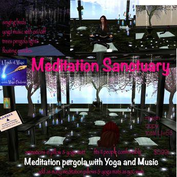 Meditation Sanctuary-crate