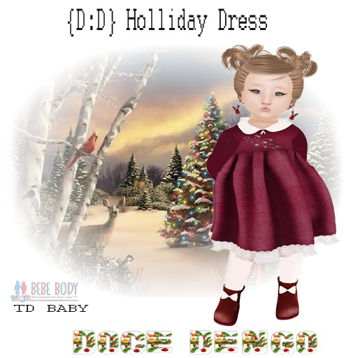 {D:D} Holliday dress TD/bebe