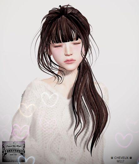 .:CHEVEUX:.M117 Hair Blacks(Ladies)