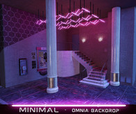 MINIMAL - Omnia Backdrop Neon