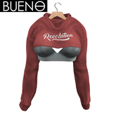 BUENO - Half Hoodie - Revolution - Belleza, Freya, Isis, Slink, Hourglass, Fit Mesh