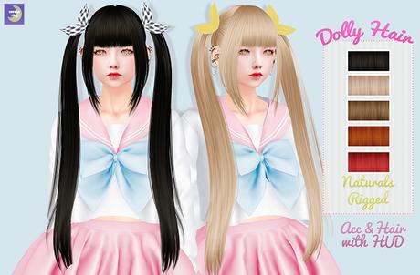 ( Haneul Side ) Dolly hair Naturals {box}