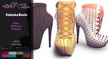 #Cranked#  Valeska Boots