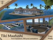 Tiki Maafushi (semi-furnished 500 animations)