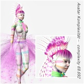 VC - Pink Punk Fullavatar - complete Avatar with AO