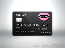 :-:SUGAR:-: Store Gift Card {5000L}
