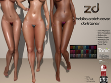*ZD* Habiba Crotch Cover Dark Tones