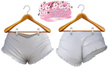 Annie EXCLUSIVE Female  Shorts Mesh- MAITREYA LARA - White Color CB collection